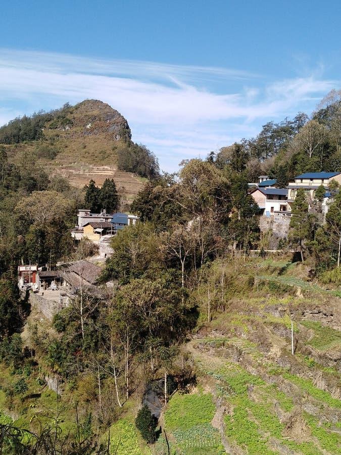 Yunnan rural, China imagens de stock royalty free