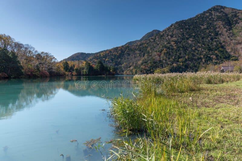 Yunoko sjö i Nikko arkivfoton