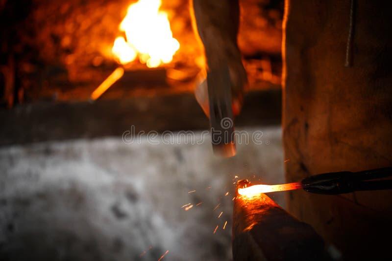 Yunque en herrería foto de archivo libre de regalías