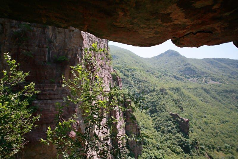 Yuntai berg arkivbilder