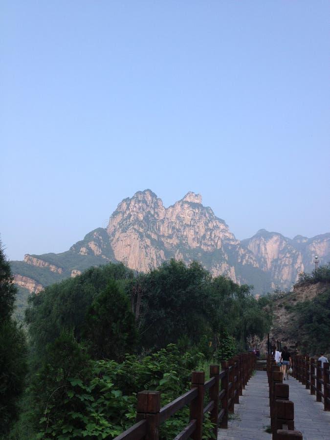 Yuntai-Berg lizenzfreies stockfoto