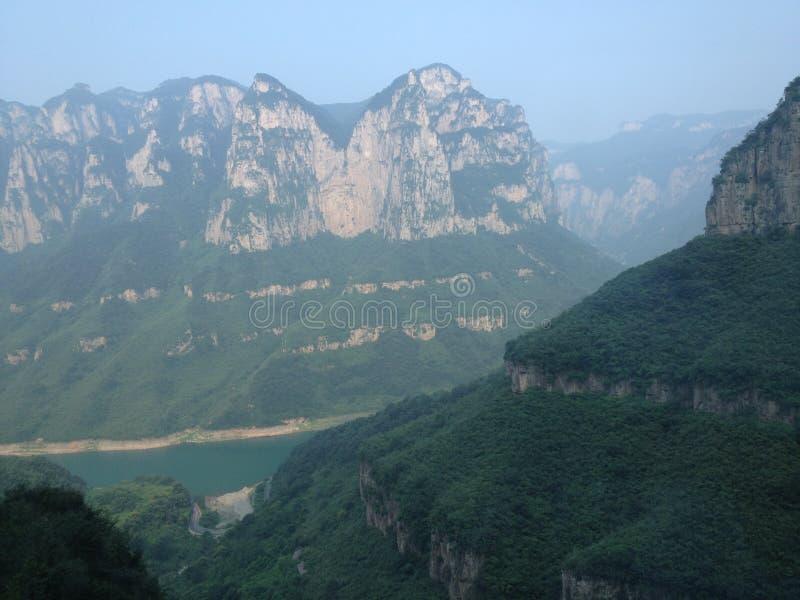 Yuntai-Berg stockfotos