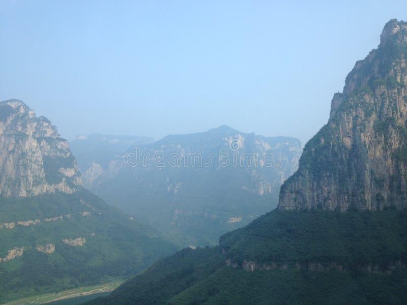 Yuntai-Berg lizenzfreie stockfotografie
