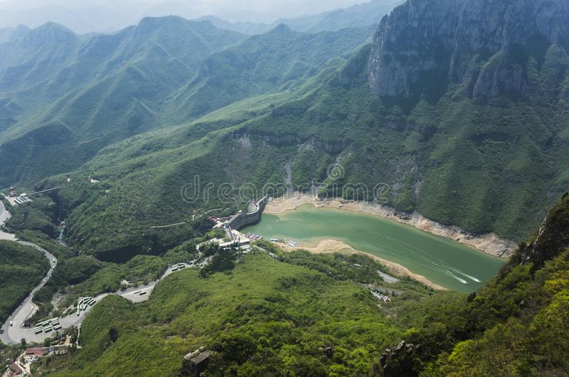 YunTai góry krajobraz obraz royalty free
