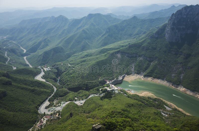 YunTai góry krajobraz fotografia stock