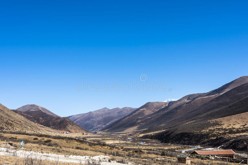 Yuquanxi village stock image