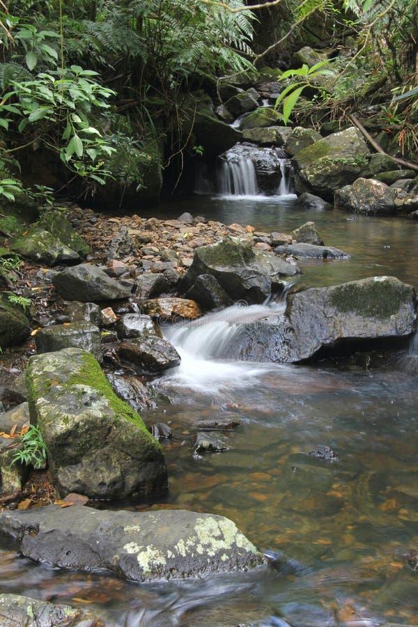 yuque водопада el стоковое изображение