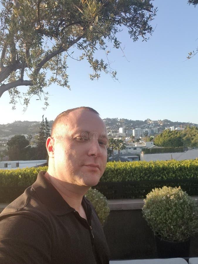 Yuri Rutman. Writer, Director, And Star Of `Trained` In West Hollywood. Yuri Rutman. Writer, Director, And Star Of `Trained` In Restoration Hardware West royalty free stock photos