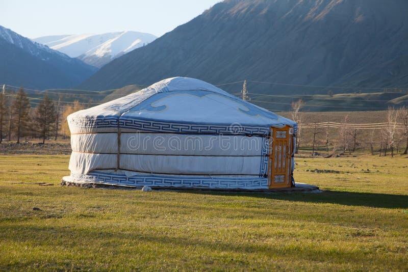 yurt войлока стоковое изображение rf