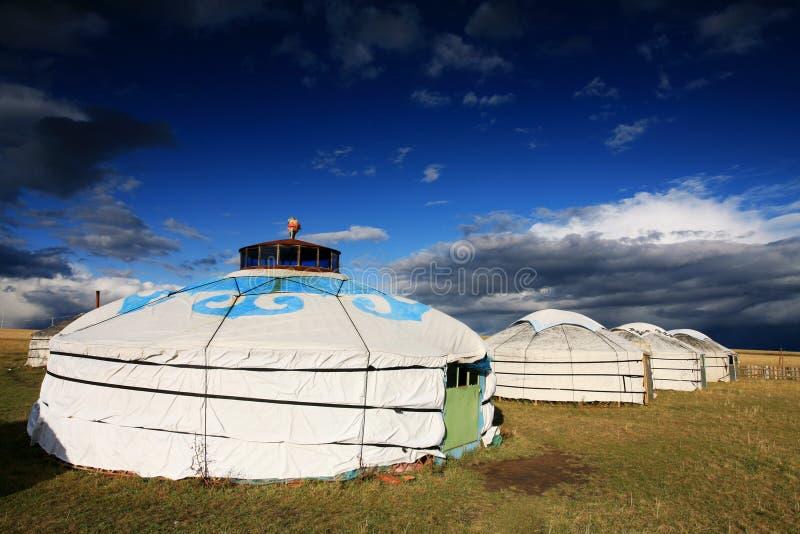 yurt шатра номада s стоковое изображение