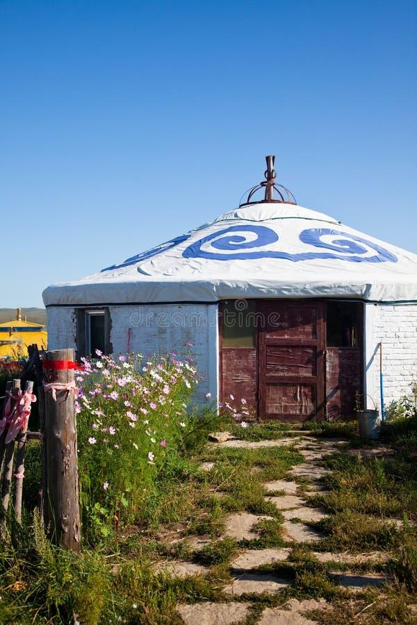 Yurt fotografia stock libera da diritti