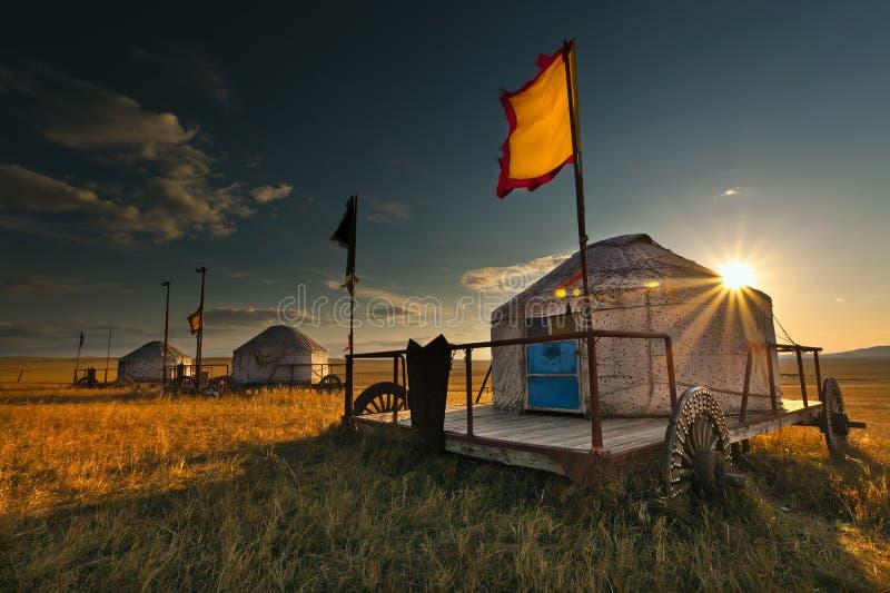 Yurt images stock