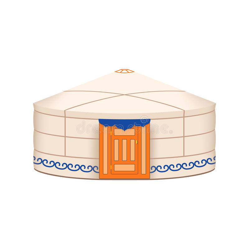 yurt ilustración del vector