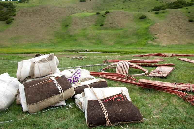 yurt immagine stock libera da diritti