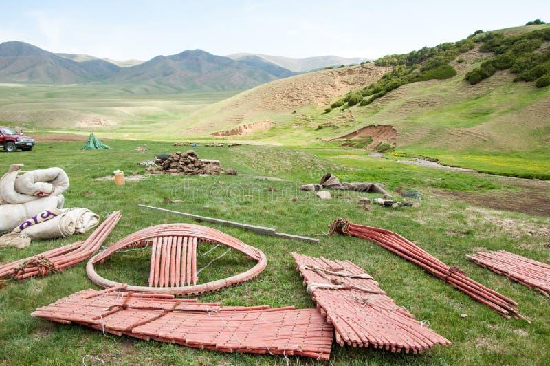 yurt стоковые изображения rf