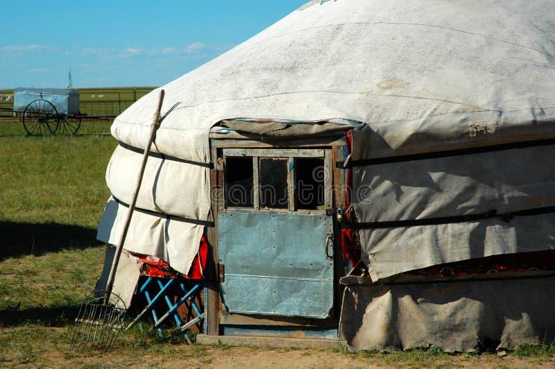 Download Yurt stock photo. Image of flag, grassland, blue, mongol - 8550398