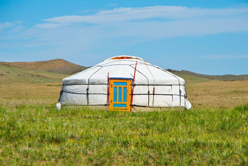 Yurt mongol foto de archivo