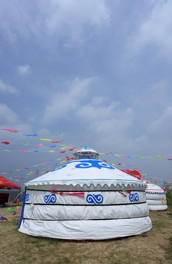 Yurt mongol fotos de archivo