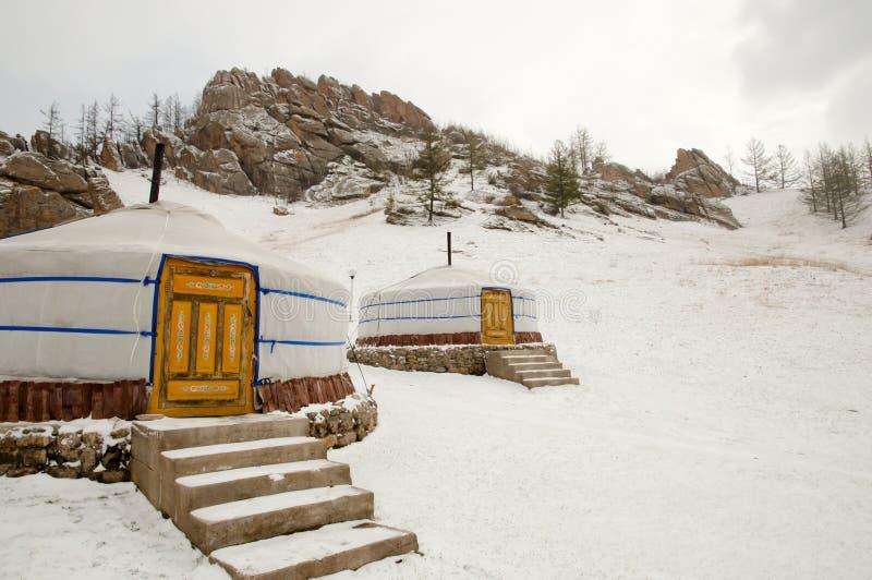 Yurt - Mongolia stock photography