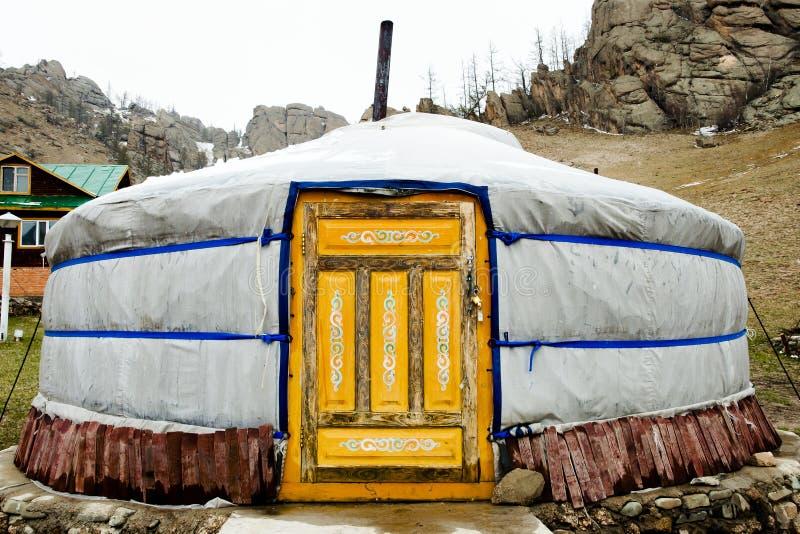Yurt - Mongolia stock images