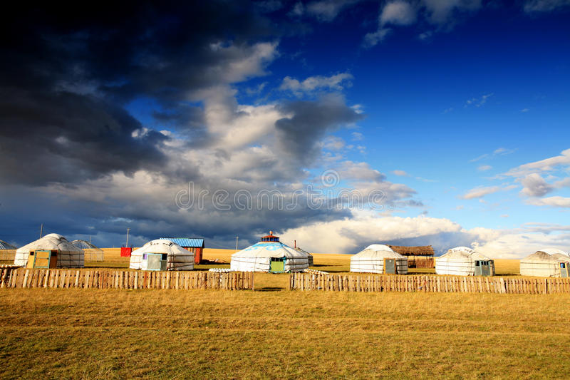 Download Yurt - Nomad's tent stock photo. Image of central, meadow - 11672494