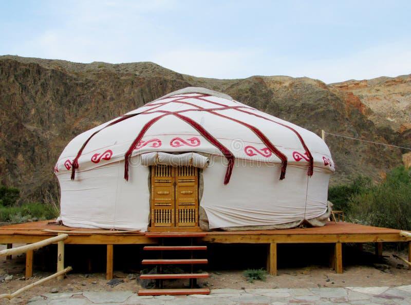 Yurt traditioneel huis stock fotografie