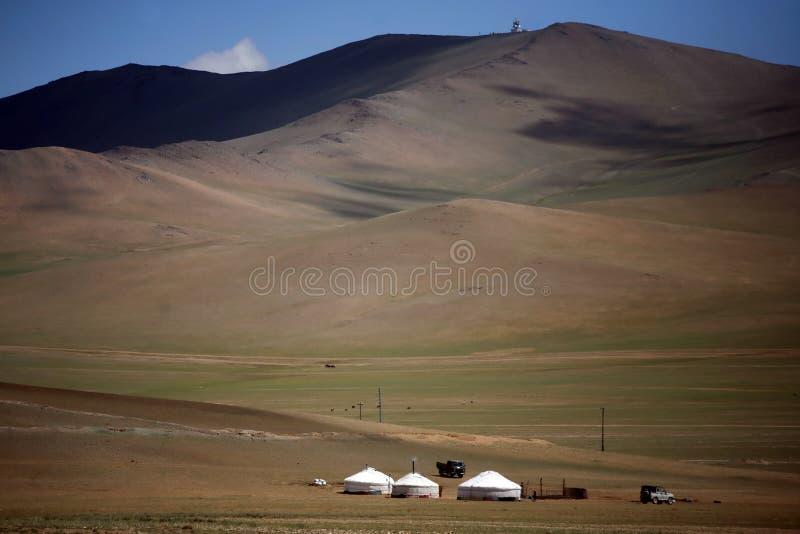 Yurts fotografia de stock royalty free