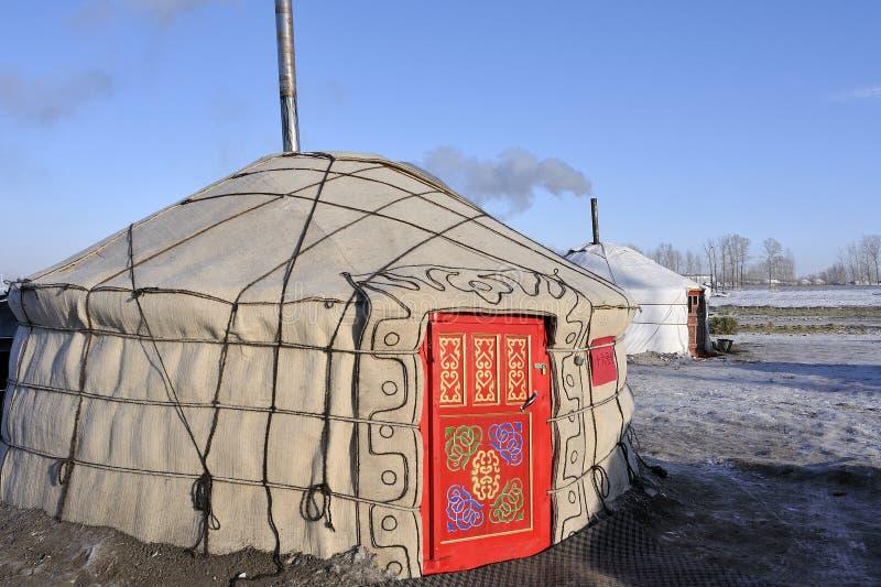 Yurts stockbild