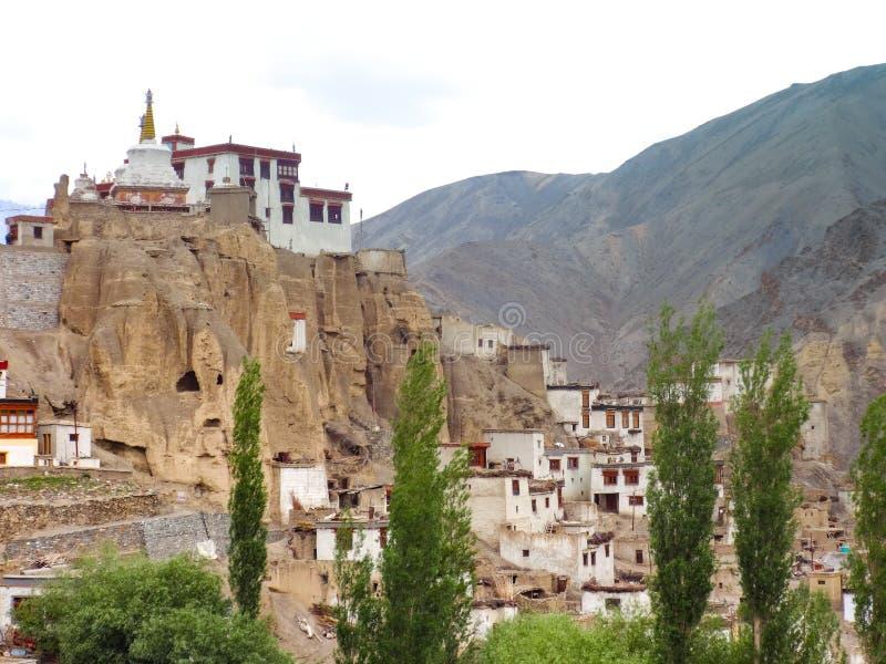 Yuru monastery in Lamayuru royalty free stock images