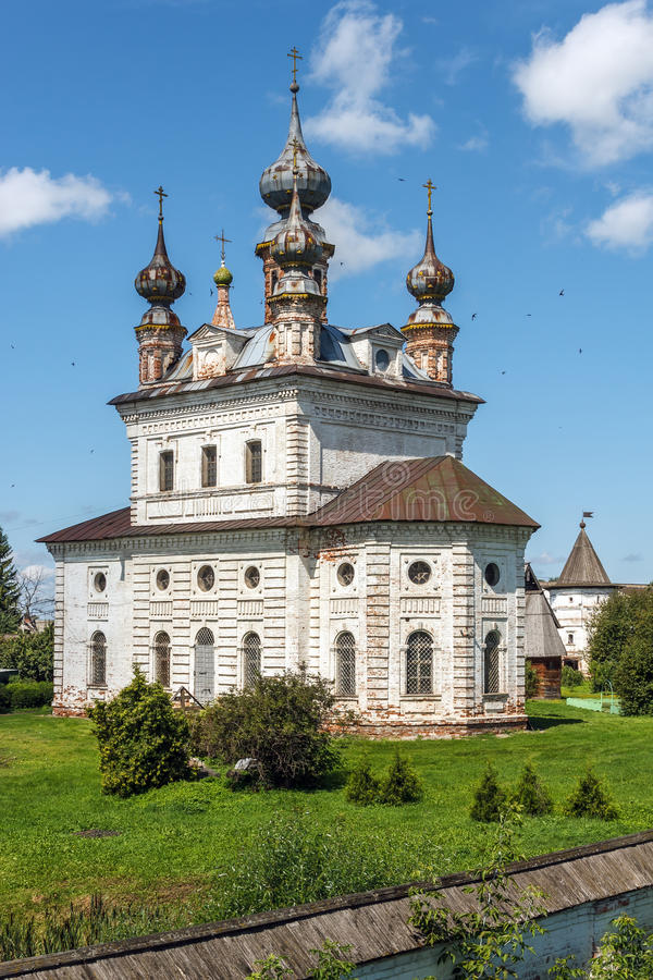 Yuryev-Polsky Catedral del arcángel Michael fotografía de archivo libre de regalías
