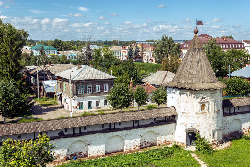 Yuryev-Polsky. View of the town stock images