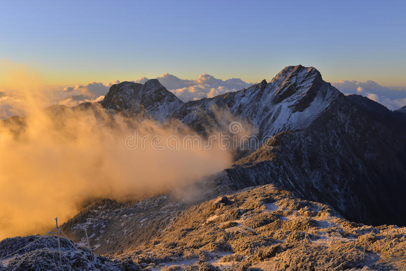Yushan national park eastasia taiwan stock photography