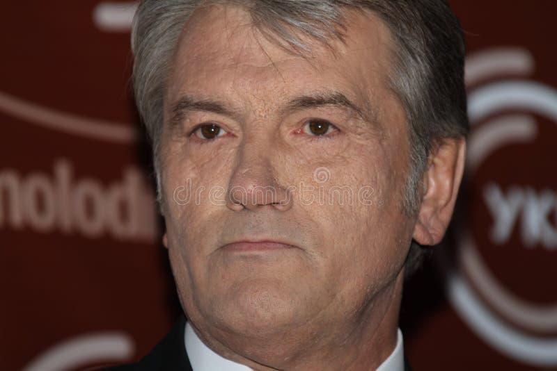 yushchenko του Βίκτωρ στοκ εικόνα