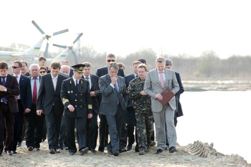 yushchenko victor Προέδρου Ουκρανία στοκ εικόνα με δικαίωμα ελεύθερης χρήσης