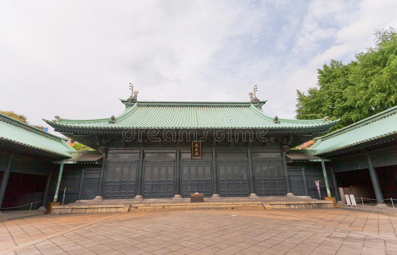 Yushima Seido Confucian temple in Tokyo, Japan. Confucian temple Yushima Seido (founded in 1630) in Tokyo, Japan. A mecca for students praying for success in stock images