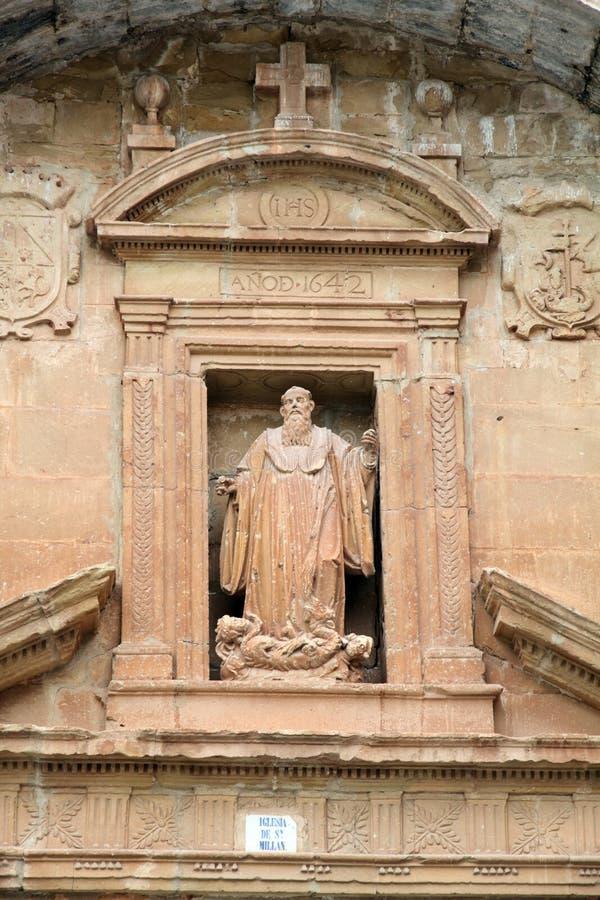 Yuso monastery,La Rioja,Spain stock photo