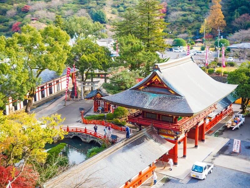 Yutoku inari świątynia w saga zdjęcia royalty free