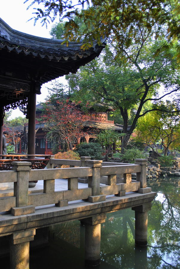 Download Yuyuan Garden stock photo. Image of structure, oriental - 22415928