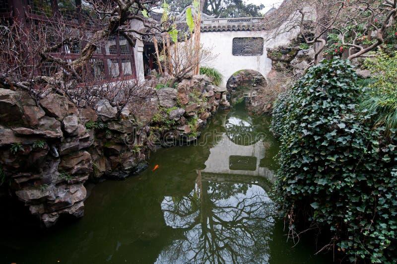 Download YuYuan Garden stock image. Image of canal, pavilion, stone - 34449155