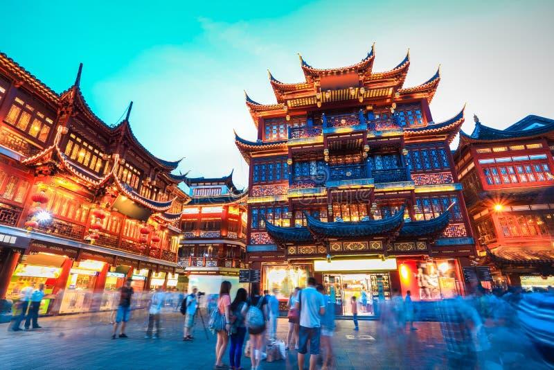 Yuyuan Garten Shanghais stockfotografie