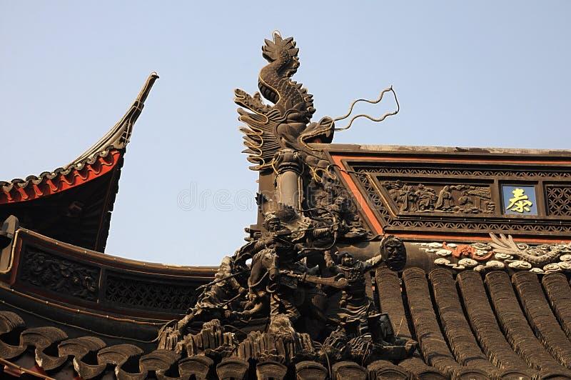 Yuyuan ogród giczoły Chiny zdjęcia royalty free