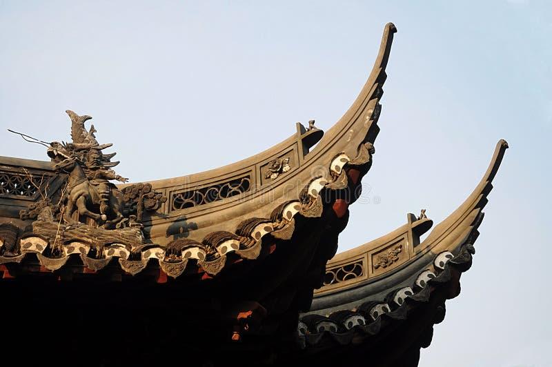 Yuyuan ogród giczoły Chiny obrazy royalty free