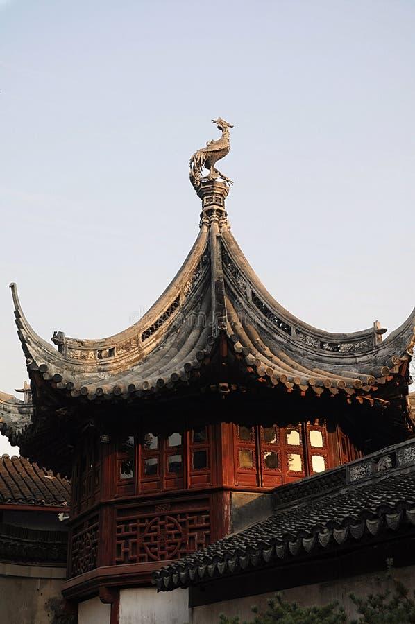 Yuyuan ogród giczoły Chiny obraz royalty free