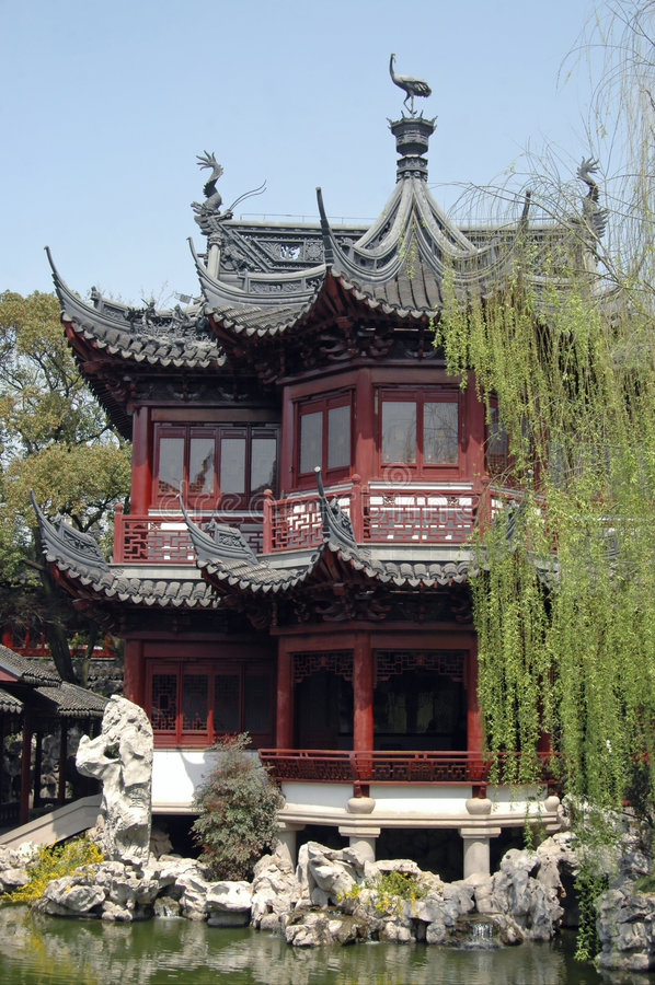 YuYuan Pavilion royalty free stock photography