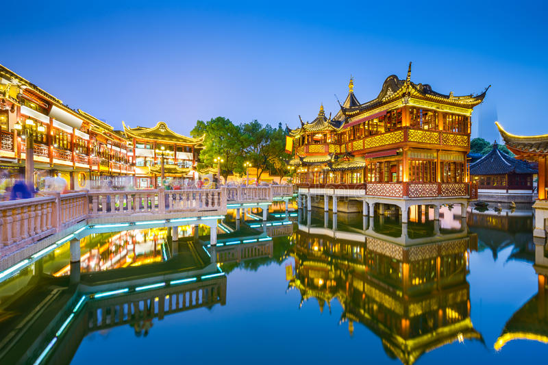 Download Yuyuan Shanghai stock image. Image of cultural, asian - 51762301