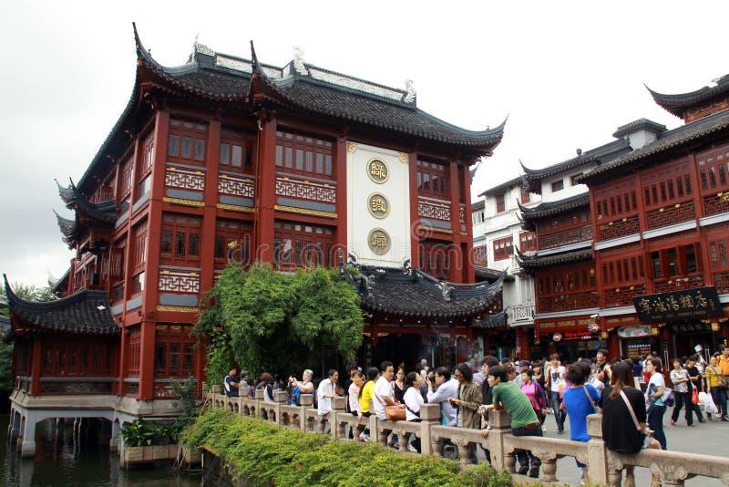 Yuyuan trädgårdar royaltyfria foton