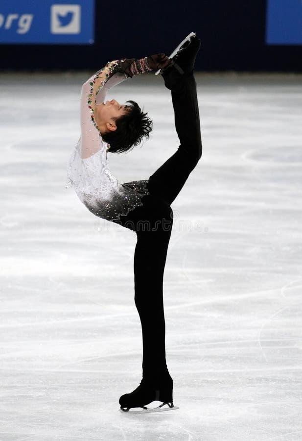 Yuzuru HANYU (JPN) fotos de archivo