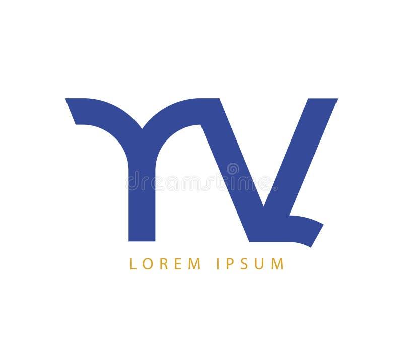 Download YV Logo Design Concept stock illustration. Image of business - 83705113