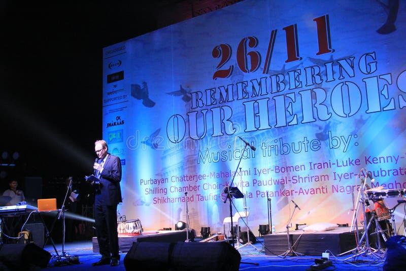 Yves Perrin French Consul General en la India foto de archivo libre de regalías