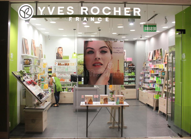 Download Yves Rocher editorial image. Image of yves, rocher, inside - 32857100